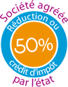 societe agreee reduction credit d'impot